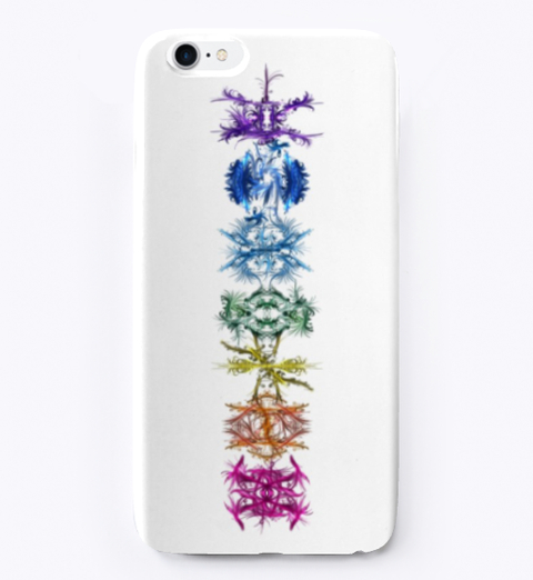 Ascending Chakra Flow iPhone cover